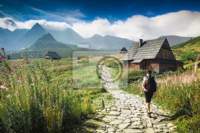 Plakat Krajobraz gór