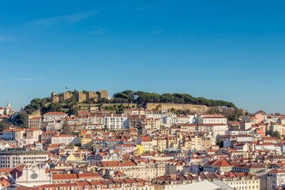 Plakat krajobraz z Lizbony