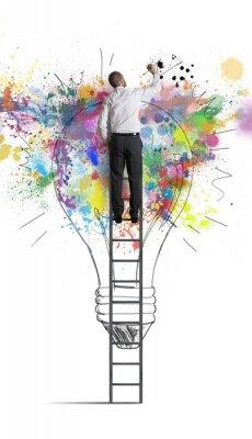 Plakat Kreatywny pomysł na biznes