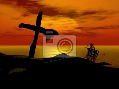 Plakat krzyż