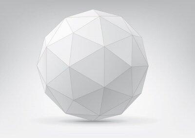 Kula z trójkątnych twarzach