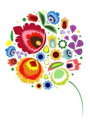 Plakat kwiat
