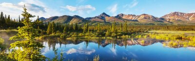 Plakat Lake on Alaska