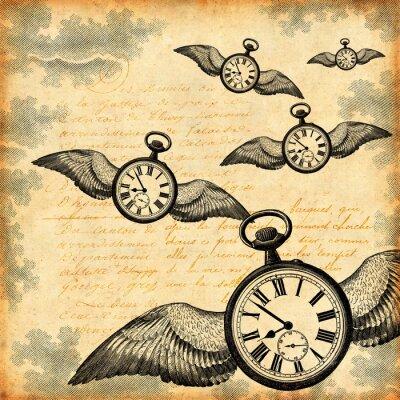 Plakat Le temps qui passe