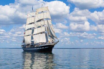 Plakat Le voilier sur la mer