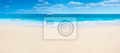 Plakat Letnia plaża i morze
