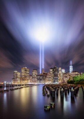 Plakat Ligths Tribute, Nowy Jork