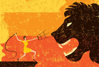 Plakat Lion Tamer