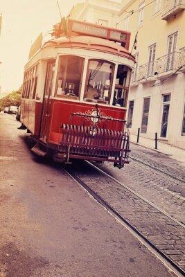 Plakat Lisbonne (électrique tramwaj)
