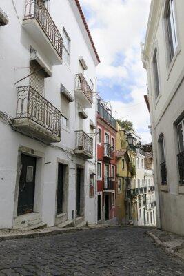 Plakat Lisbonne - Rue typique