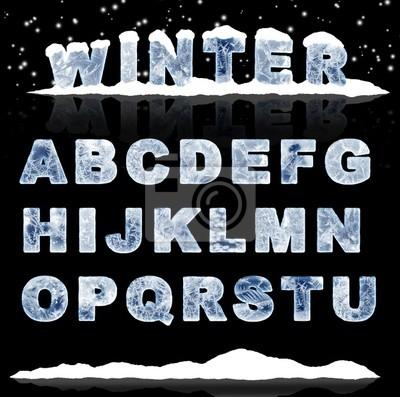 Plakat Listów lodu