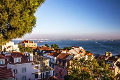 Plakat Lizbona, Portugalia.
