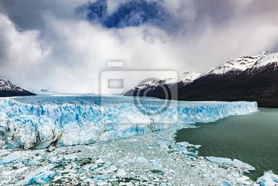 Plakat Lodowiec Perito Moreno, Argentyna: październik 2013.