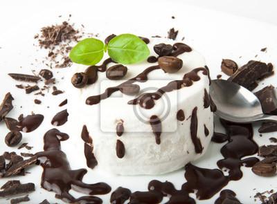 Lody waniliowe z czekoladą