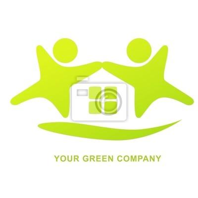 LOGO zielony dom