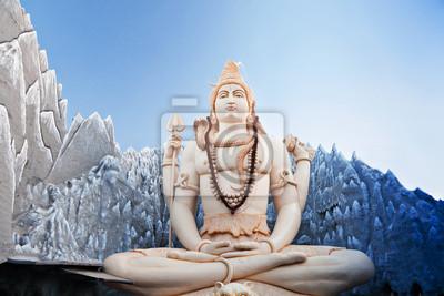 Plakat Lord Shiva Statue