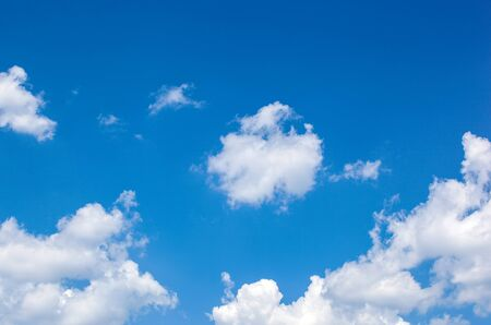 Plakat Low Angle View Of Clouds In Blue Sky