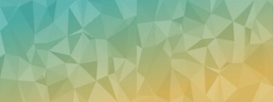 Plakat low poly abstract modern background. delicate colors chaotic triangles variable size and rotation. Minimalist layout for business card landing page wallpaper website brochure. Trendy vector eps10
