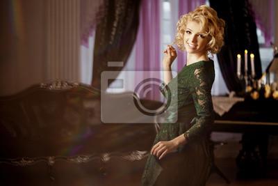 Plakat Luksusowe bogatą kobietą jak Marilyn Monroe