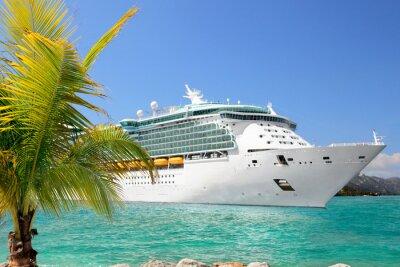 Plakat Luksusowe rejsu statkiem z portu