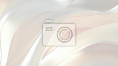 Plakat Luxury elegant background abstraction fabric. 3d illustration, 3d rendering.