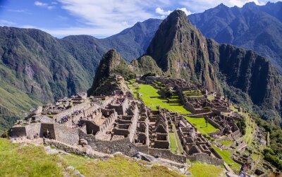 Plakat Machu Picchu - Peru