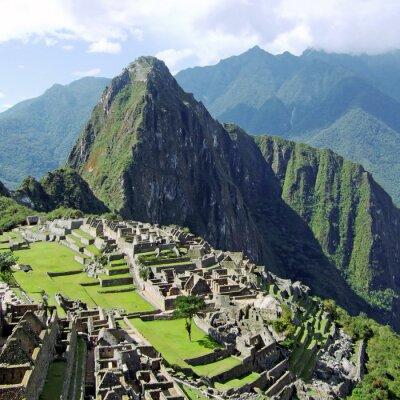 Machu Picchu w pobliżu Cusco, Peru.