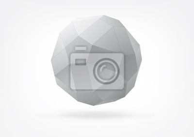 małe rhombicosidodecahedron do projektowania graficznego