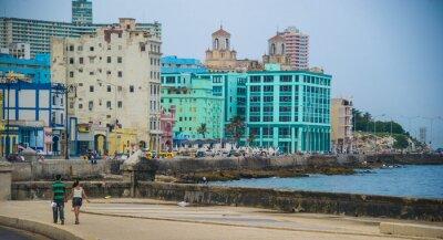 Plakat malecon de la Havane