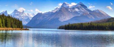 Plakat Maligne Lake