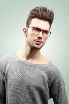 Plakat man fashion