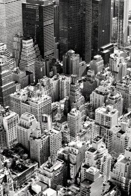Plakat Manhattan, New York City. USA.