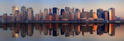 Plakat Manhattan Panorama, New York City