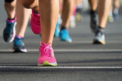 Plakat maratończyków