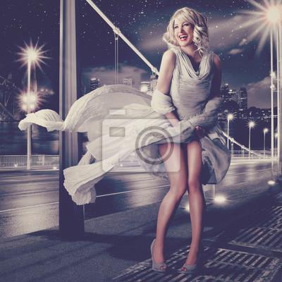 Plakat Marilyn Monroe 04 / Vintage