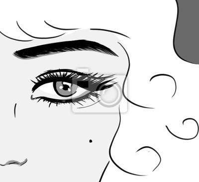 Plakat Marilyn Monroe portrait