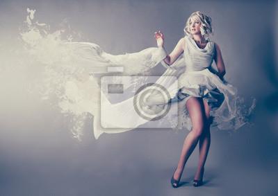 Plakat Marilyn Monroe w sukience powitalny