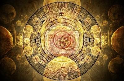 Plakat Maya proroctwo