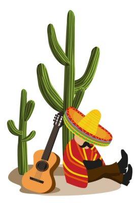 Plakat Meksykańska drzemiący