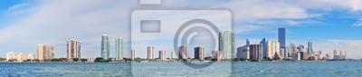 Plakat Miami Skyline