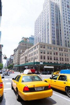 Plakat Miasto Nowy Jork, Manhattan Fifth Avenue 5th Av US