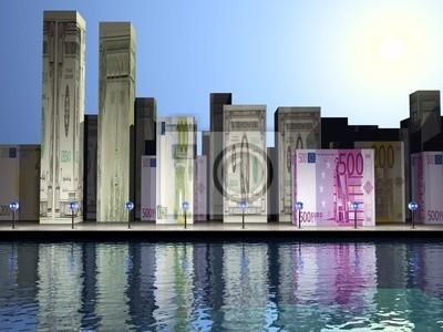 Miasto pieniądze