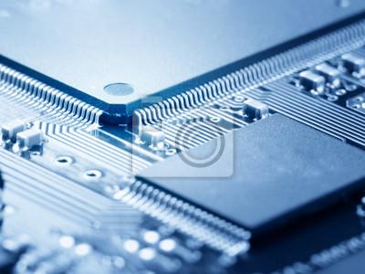 Plakat Microchip