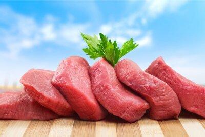 Plakat Mięso.