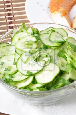 mizeria z zielonej cebuli