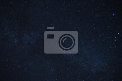 Plakat Mleczna droga Galaxy Gwiazdy Astronomia Tła