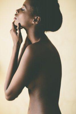 Plakat Młoda kobieta afryki