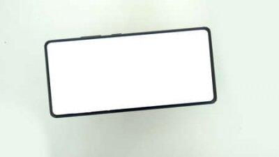 Plakat Mock-up smart phone empty screen. smart phone mockup