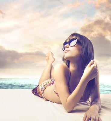 Plakat moda lato