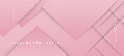 Plakat Modern pink gradient background with texture striped design
